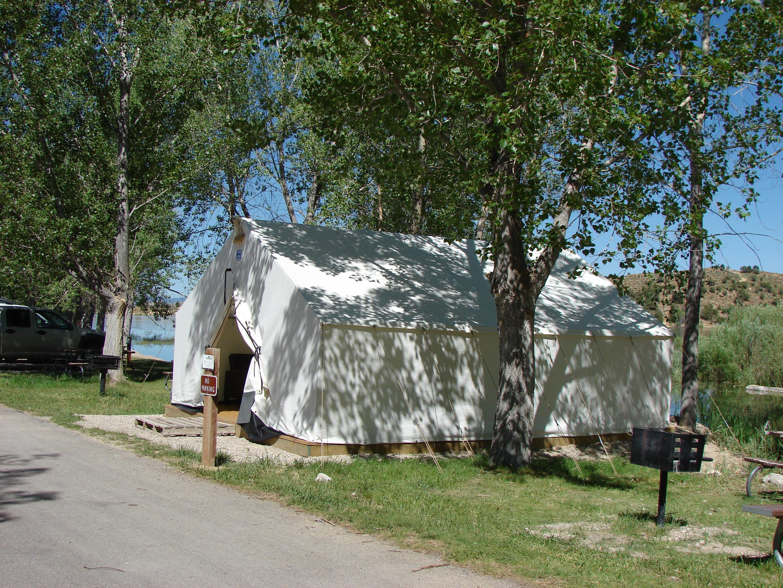 Tent Cabins At Palisade State Park Utah State Parks