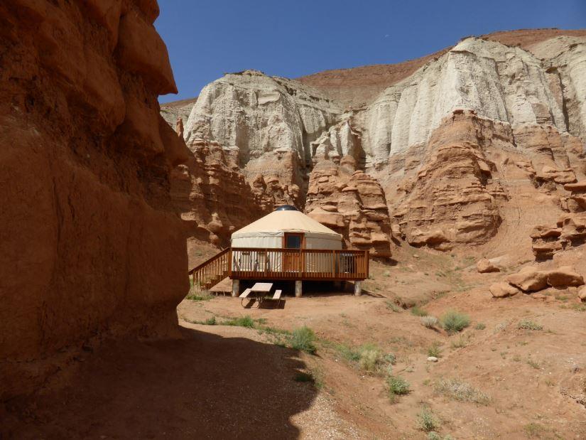 Yurt 1 Exterior