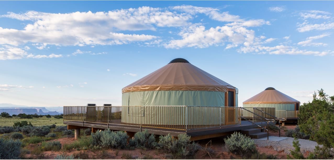 Yurts Utah State Parks