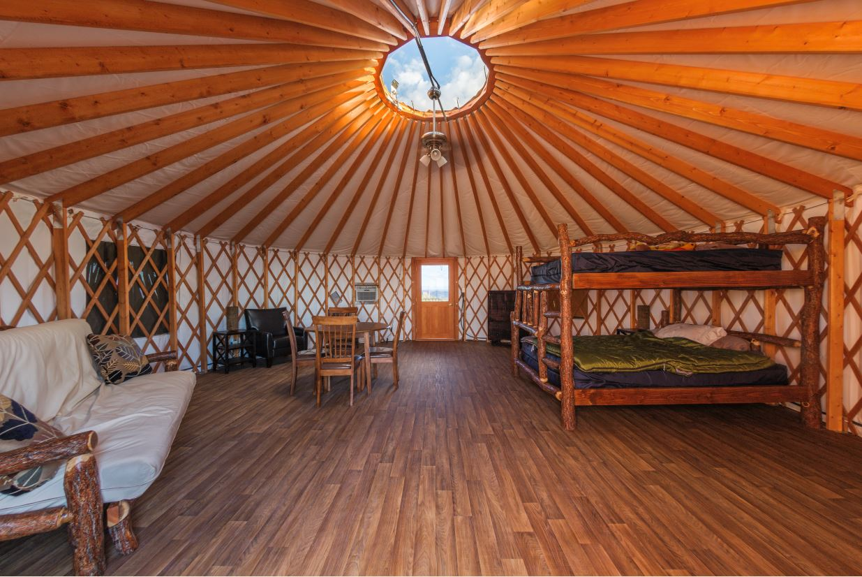 Moenkopi Yurts Utah State Parks