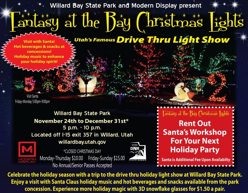 fantasy at the bay christmas lights