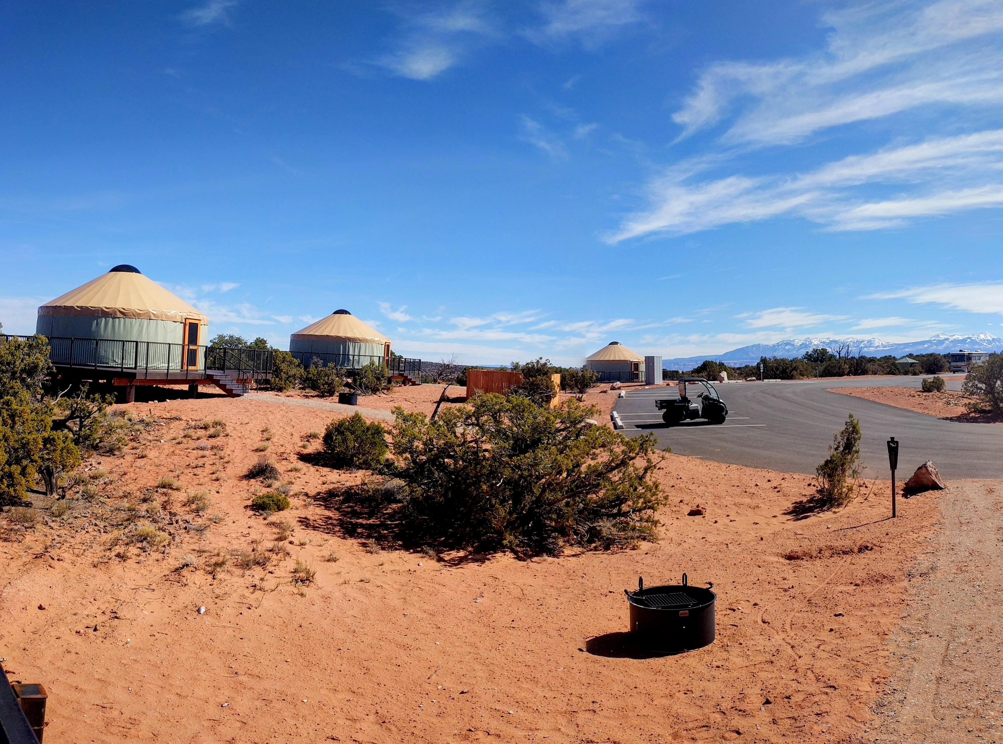 Wingate Yurts Utah State Parks